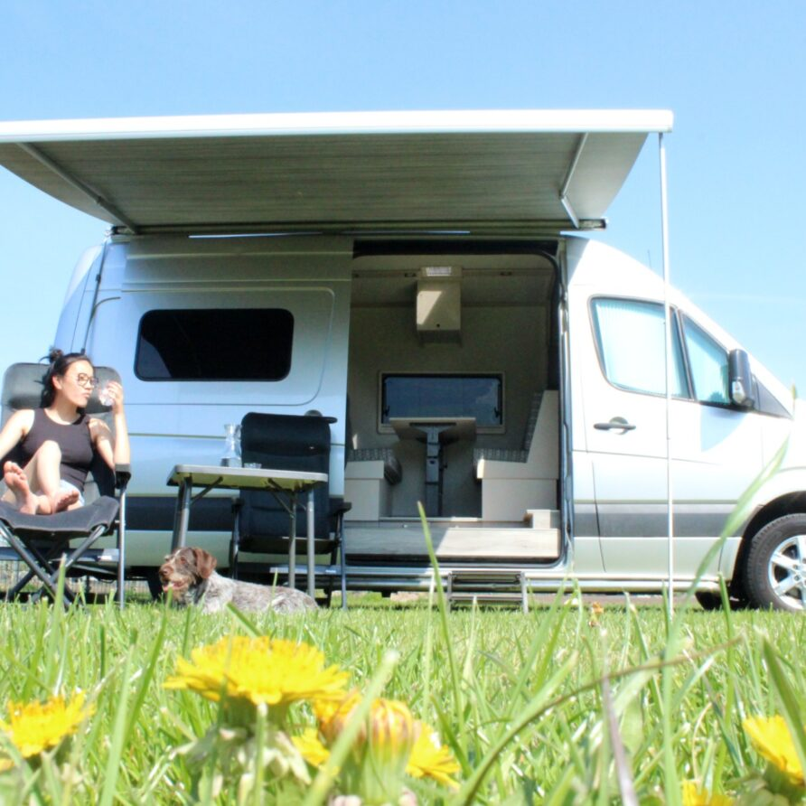 Camperen in de Peel